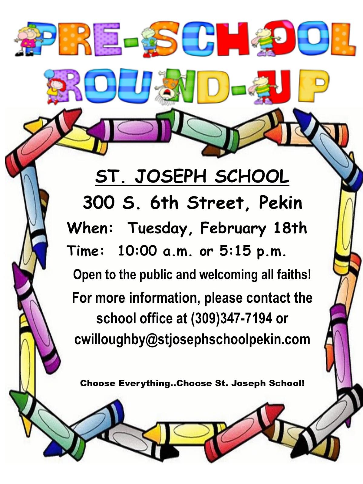 Preschool Round-Up