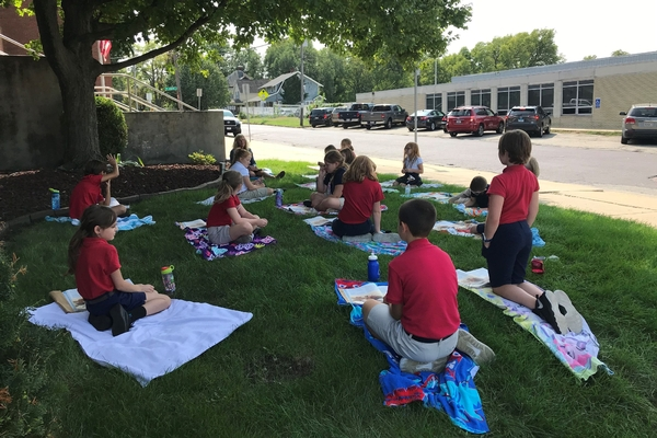4th  grade outdoor learning